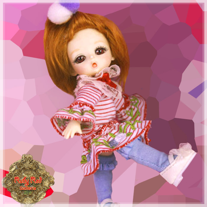 CC0005A Dance with me! (with wig) - Cloth Set