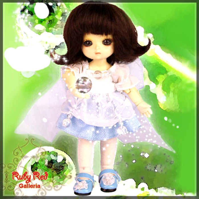 CC0011A Nadia (with wig) - Cloth Set