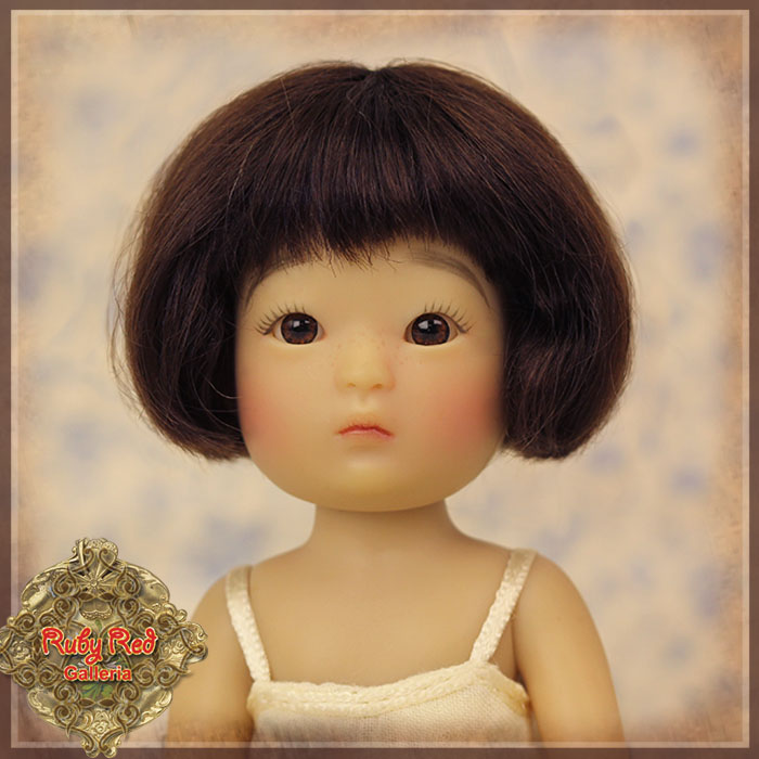 HD0012A Yu Ping Brown Mohair Wig