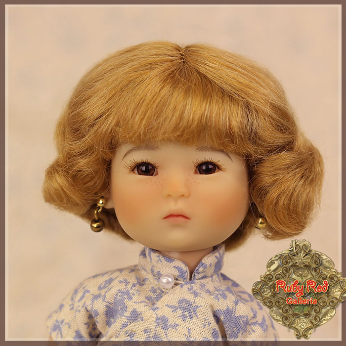 HD0015A Light Brown Mohair Wig