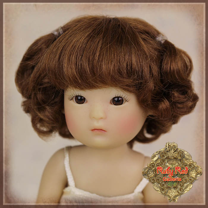 HD0031A Yu Ping Brown Mohair Wig