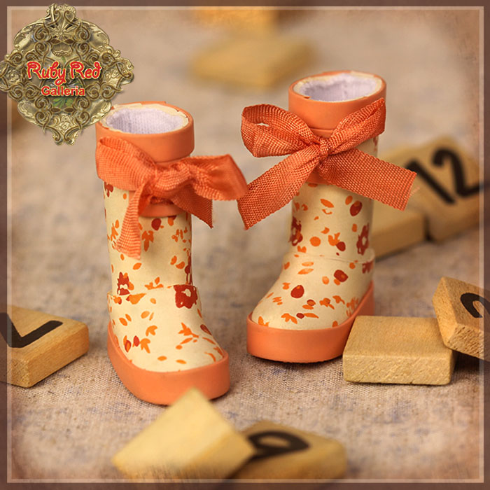 HH0018A Orange Rainboots
