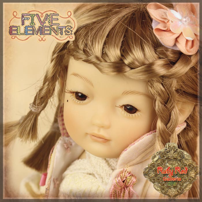 JA0006A Five Element Doll – Kim (Metal)