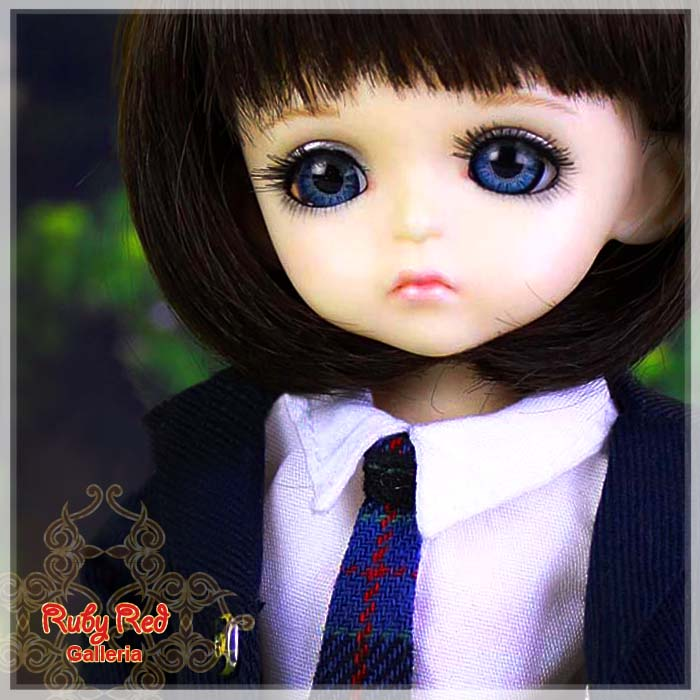 SA0010A UK Style School Uniform (With Wig)