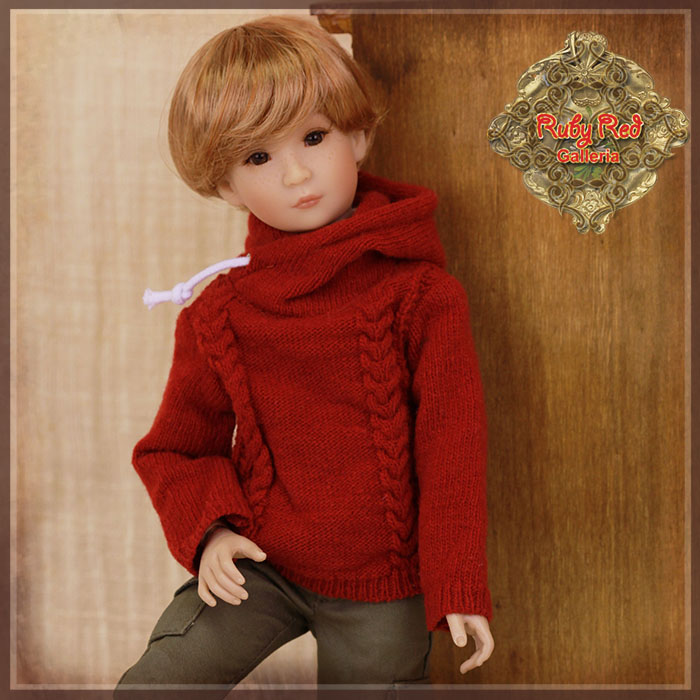 WC0058A Red Pullover