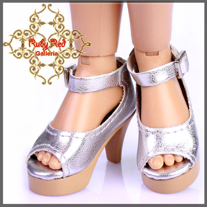 WH0039A Silver High Heel Shoes