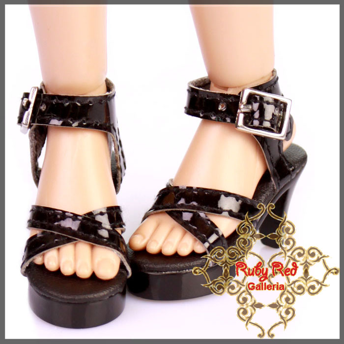 WH0040A Black High Heel Shoes